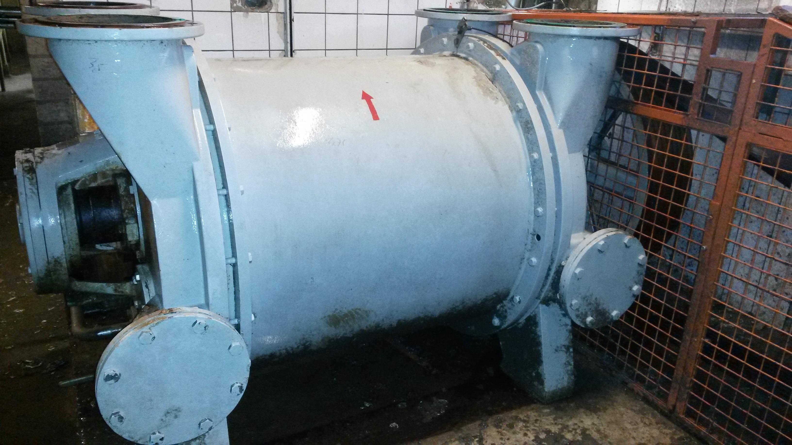 Second Hand Vacuum Pump Siemens Elmo 2be1353 0 Used Machine
